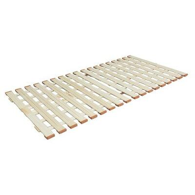 薄型軽量桐すのこベッド スタンド式 lyz80 セミシングル w d h    天然木桐