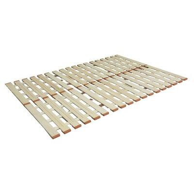 LYT-310 オスマック 薄型軽量桐すのこベッド 3つ折れ式 セミダブル スノコベッド LYT310オスマツク