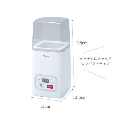 ヨーグルト 甘酒メーカー YA-100W(1台)