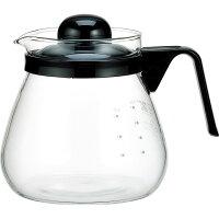 イワキ レンジのポット・コーヒー1000 KT7966-BK2(1コ入)