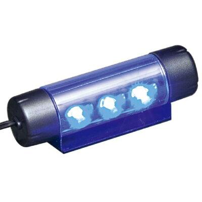 セイワ 4ユニット*3LEDフロアライト ブルーLED F180(1コ入)
