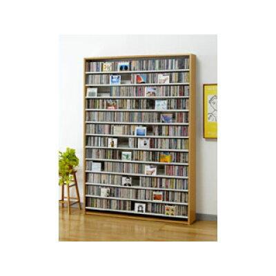 オークス CD・DVDラック CS1668