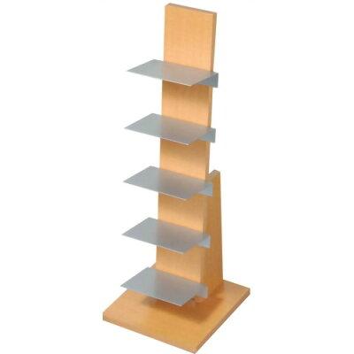 ブックタワー ロータイプ L54 ナチュラル