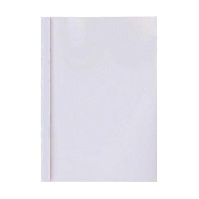 とじ太くん専用カバーB5縦クリア36mm 4120012 ホワイト