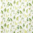 川島織物セルコン KEWキューガーデン ファーンレース 既製カーテン 100×133cm DC4523S 5964at