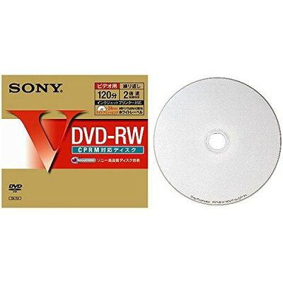 SONY 録画用DVD-RW DMW12HP