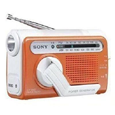 SONY 防災用 手回し充電 FM/AMポータブルラジオ ICF-B02(D)