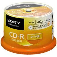 SONY CD-R・RW 50CDQ80GPWP