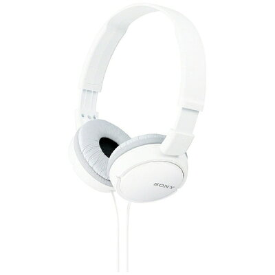 SONY ヘッドホン ZX MDR-ZX110(W)