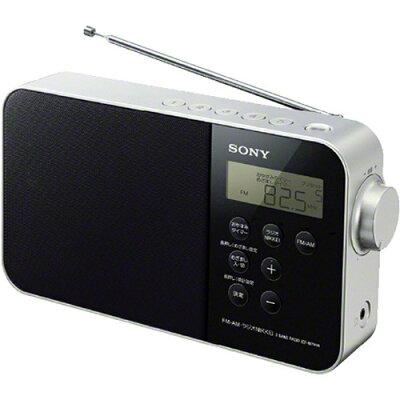 ソニー FM/AM/ラジオNIKKEI PLLシンセサイザーポータブルラジオ ICF-M780N ブラック(1台)