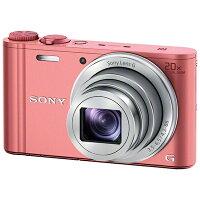 SONY コンパクトデジタルカメラ Cyber-Shot WX DSC-WX350(P)