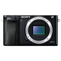 SONY 小型一眼カメラ ボディ α6000 ILCE-6000 ILCE-6000(B)