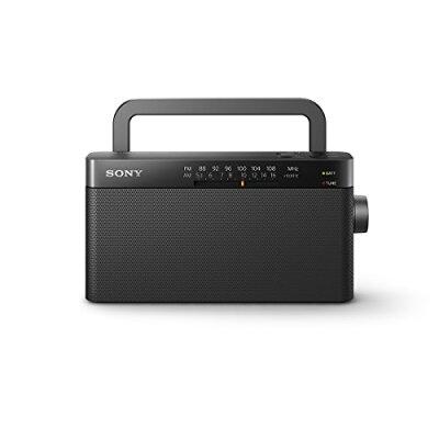 ソニー FM/AMハンディーポータブルラジオ ICF-306(1台)