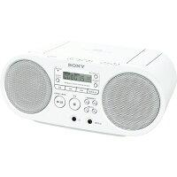 SONY CDラジオ ZS-S40(W)