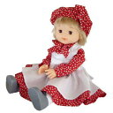 モンシェリ お人形 ロングスカート レッド・01808 1048680