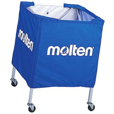 molten/モルテン BK15VB 折りたたみ式ボールカゴ 青