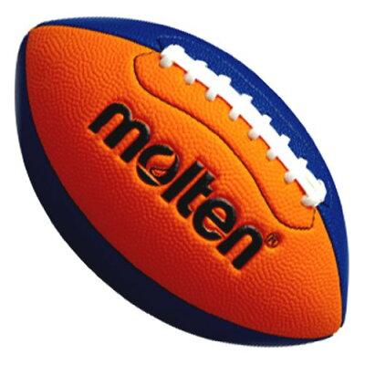 molten モルテン フラッグフットボールミニ Q3C2500-OB オレンジ×ブルー