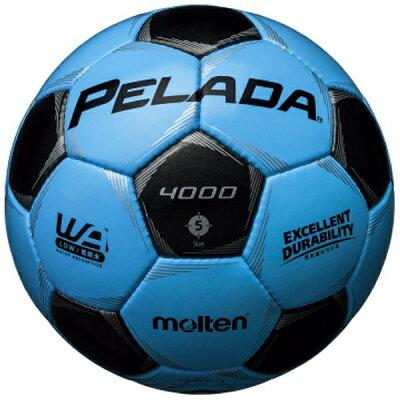 molten モルテン サッカー ペレーダ4000 5号 F5P4000-CK サックスブルー×メタリックブラック