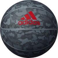 adidas ゴムバスケットボールシャドースクワッド 7号球AB7124BKグレー