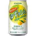 チョーヤ 酔わないゆずッシュ(350ml*24本入)