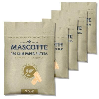 MASCOTTE マスコット スリムペーパーフィルター 無漂白 ロングサイズ  7-65012-75