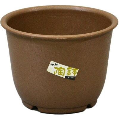 陶鉢 輪型 3.5号 きん茶(1コ入)