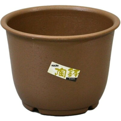 陶鉢 輪型 4号 きん茶(1コ入)