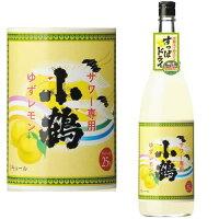 小正醸造 小鶴 サワー専用ゆずレモン 1.8L
