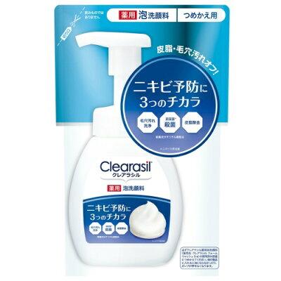 クレアラシル 薬用泡洗顔フォーム10x つめかえ用(180ml)
