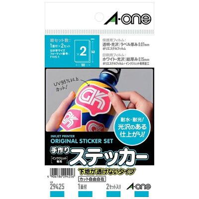 スリーエムジャパン 手作りステッカー A-one 29425