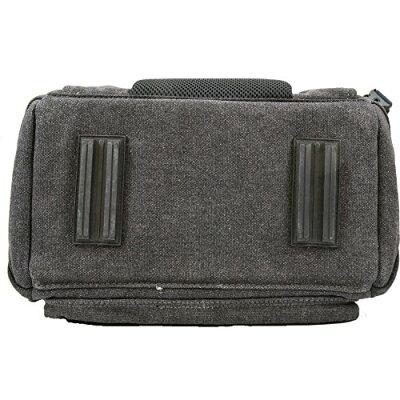 エスハイム A450 キャンバスバッグ ナチュラルブラック(1コ入)