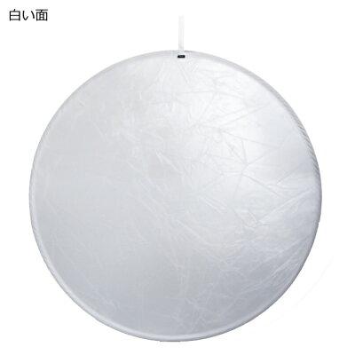 キング 撮影用レフ板 スタンダードレフ S/W 130cm 白枠(1個)