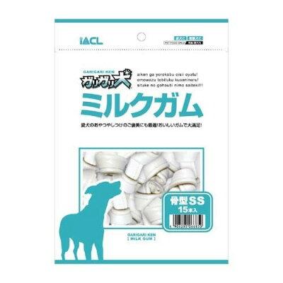 ガリガリ犬 ミルクガム 骨型SSサイズ(15本入)