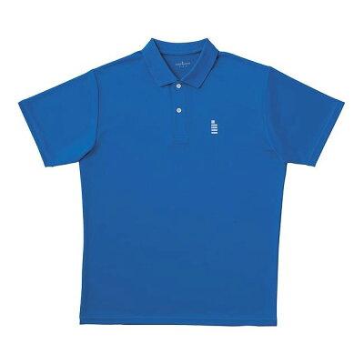 GOSEN ワンポイントポロシャツ T1308 ブルー XL