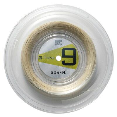 ゴーセン GOSEN G-TONE 9 BS0692 ナチュラル