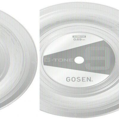 gosen バドミントン ストリングス g - tone 9  ロール ナチュラル bs0691na