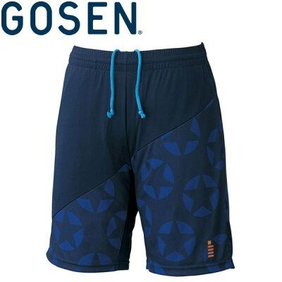 GOSEN(ゴーセン) UNI 星柄ゲームパンツ PP1702 テニスウェア 2017SS KPI