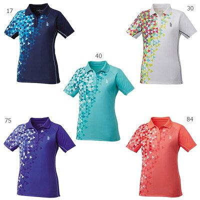 GOSEN ゴーセン レディース ゲームシャツ T1713 テニスウェア