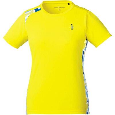 ゴーセン T1809_レディースゲームシャツ T1809 色 : イエロー サイズ : M