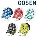 ゴーセン GOSEN テニスキャップバイザー 2018年 夏企 ALL JAPAN オールジャパンキャップ グラフィック1 C18A05