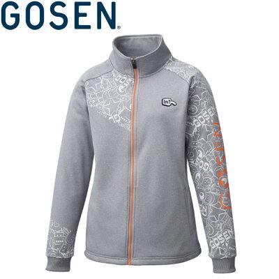 ゴーセン GOSEN テニスウェア レディース 裏起毛ストレッチジャケット UW1801 2018FW