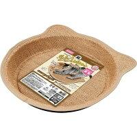 ニャンタクラブ ニャン太の麻のツメとぎトレイ 猫耳付き鍋型(1コ入)