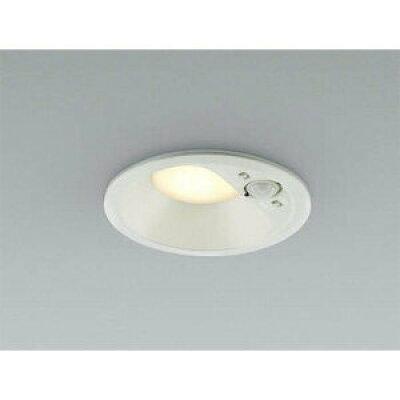 コイズミ照明 照明器具防雨型 パネルシリーズLEDダウンライト 高気密SB形 人感センサ付マルチタイプ白熱球60W相当 拡散 電球色 非調光AD41934L