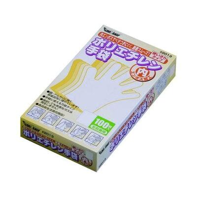 GloveMania ポリエチレン手袋 内エンボス  #2013 クリア L(100枚)
