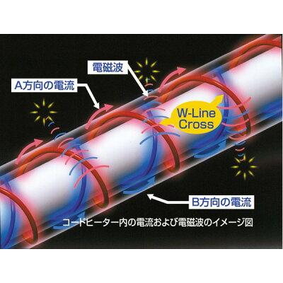 ゼンケン 電気ホットカーペット ZCB-30KR 3畳タイプ 本体のみ(1枚)