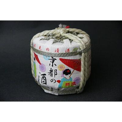 招徳 京都の酒 菰樽 300ml