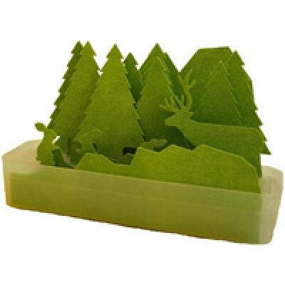 自然気化式エコ加湿器 うるおい 森 グリーン ULMRGR(1セット)