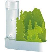 自然気化式ECO加湿器 うるおい ちいさな森 エルク グリーン ULT-EL-GR