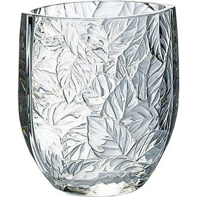 フラワーベース 花瓶 リーフ 日本製 P-26433-JAN(1個)