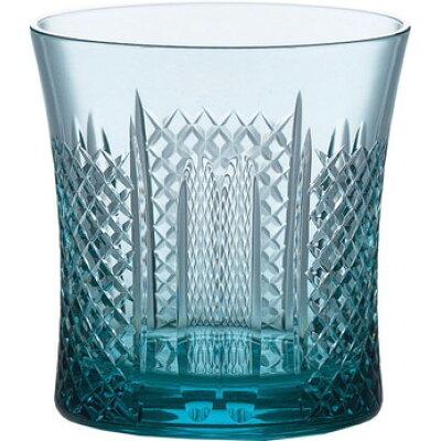 東洋佐々木ガラス 青碧 オンザロック(ウィスキーグラス)